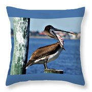 Pelican II Throw Pillow
