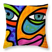 Penelope Peeples Throw Pillow