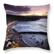 Pennans Cottages And Throw Pillow