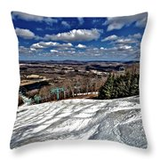 Pennsylvania Bumps Throw Pillow