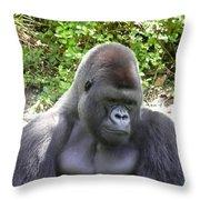 Pensive Moment Throw Pillow