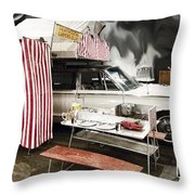Penthouse Campers Club-chrysler Throw Pillow