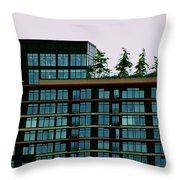 Penthouse Pines Throw Pillow