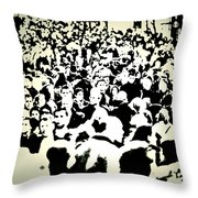 Peoples Extract  Throw Pillow