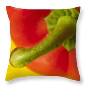Peppered 3 Throw Pillow