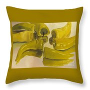 Peppers Throw Pillow