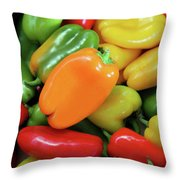 Peppery Throw Pillow