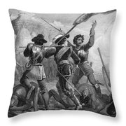 Pequot War, 1636-3 Throw Pillow
