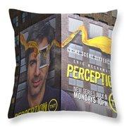 Perception Throw Pillow