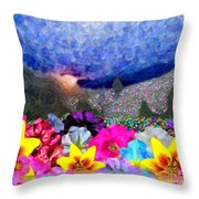 Perennially Beautiful II Throw Pillow