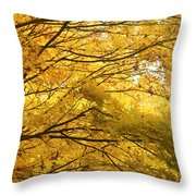 Perfect Autumn Throw Pillow