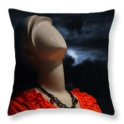 Perfect Model Throw Pillow