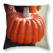 Perfect Pumpkin Forever Throw Pillow