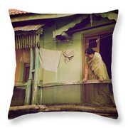Perfectly Matched Throw Pillow