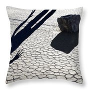 Perhaps A Solution Is In Sight Throw Pillow