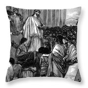 Pericles (c495-429 B.c.) Throw Pillow