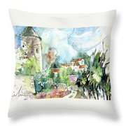 Perigord In France 06 Throw Pillow