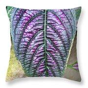 Perisan Plant Throw Pillow