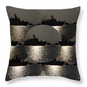 Periscope View Throw Pillow