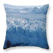 Perito Moreno Glacier, Tourist Overlook Throw Pillow