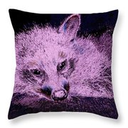 Periwinkle Love Throw Pillow