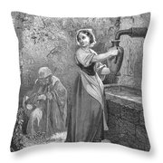 Perrault: The Fairies Throw Pillow
