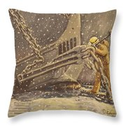 Perseverance Throw Pillow by Carey MacDonald