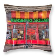 Pershing Square Central Cafe I Throw Pillow