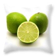 Persian Lime Throw Pillow