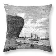Peru: Arica, 1880 Throw Pillow