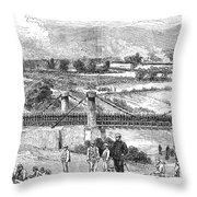 Peru: Chilean Army, 1881 Throw Pillow