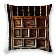 Peruvian Door Decor 18 Throw Pillow