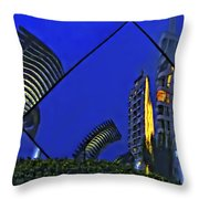 Peruvian Nights Throw Pillow