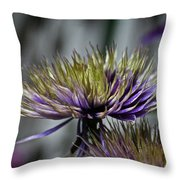 Petal Freedom Throw Pillow