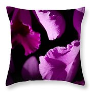 Petals Galore Throw Pillow