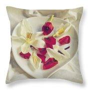 Petals Throw Pillow by Joana Kruse