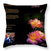 Petals Of Praise Books By Randall Branham Throw Pillow