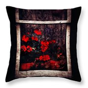 Petals Of Sorry  Throw Pillow