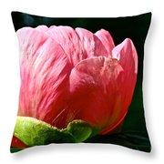 Petals Up Throw Pillow
