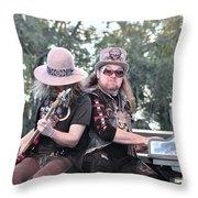Peter Keys - Lynyrd Skynyrd Throw Pillow