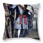 Peter The Great Throw Pillow