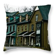 Peter's Village Throw Pillow