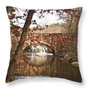 Petit Jean State Park Throw Pillow