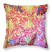 Petty In Pink Throw Pillow