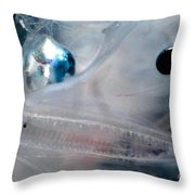 Phantom Anglerfish Throw Pillow