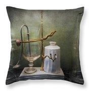 Pharmacy - Victorian Apparatus  Throw Pillow