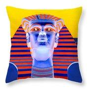 Pharoah's Lost Kingdom 2 Throw Pillow