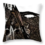 Pheasant Hunt Throw Pillow