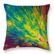 Phenylalanine Throw Pillow by Michael W. Davidson