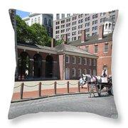 Philadelphia 01 Throw Pillow